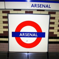 Arsenal skilt i Tuben - Abeeeer - FLICKR