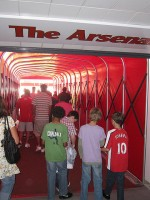 Arsenal spillertunnel - julesjoseph FLICKR