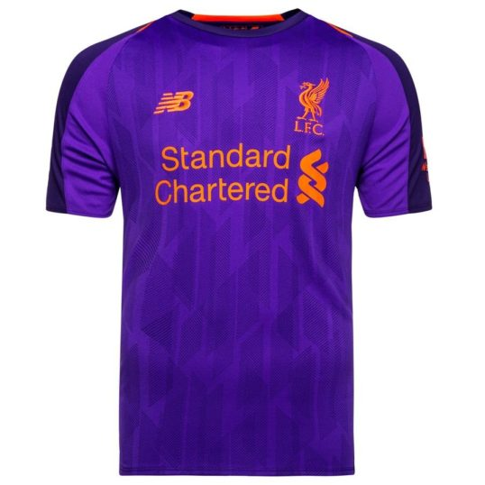Liverpool udebanetrøjer 2018-19