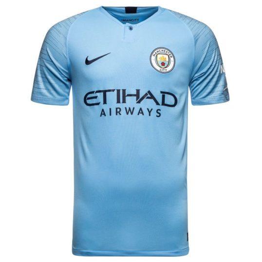 Manchester City hjemmebanetrøje 2018-19