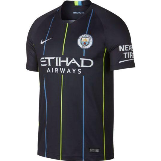 Manchester City udebanetrøje 2018-19