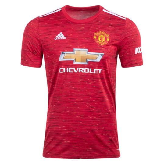 Manchester United trøje 2020-21 - hjemmebanetrøje