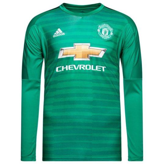 Manchester United målmandstrøje 2018-19
