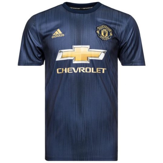 Manchester United tredjetrøje 2018-19