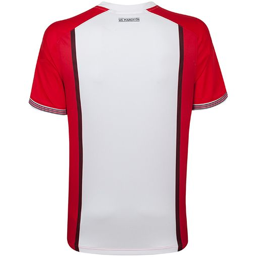 Southampton trøje 2017-18 bagside