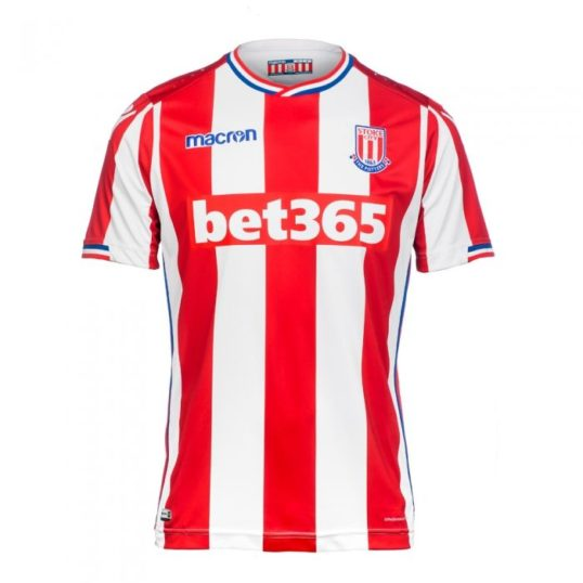 Stoke City trøje 2017-18