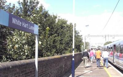 White Hart Lane Train station - flierfy - flickr