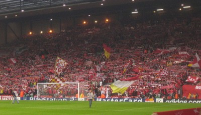 Anfield - The Kop- Premier League billetter - Sanjiva - flickr.com