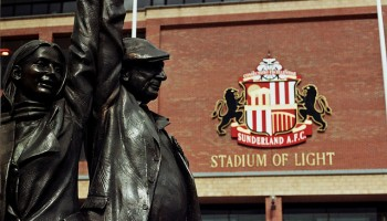 Fan statue - All generations come together at the Stadium of Light - Walt Jabsco - flickr.com