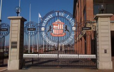 Ha'way The Lads gate at the Stadium Of Light, Sunderland - Ben Sutherland - flickr.-com