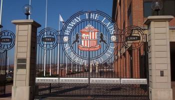 Ha'way The Lads gate at the Stadium Of Light, Sunderland - Ben Sutherland - flickr.-com