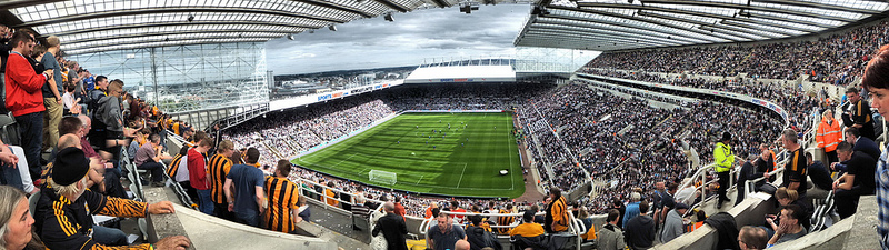 St. James Park Newcastle United - domfell - Flickr.com
