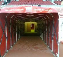 Staium of Light - spillertunnel - Stadium Tour - vaguethehow - flickr.com