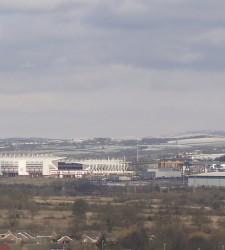 Britannia stadium i Stoke fra Trentham gardens - Martyn Wright - flickr