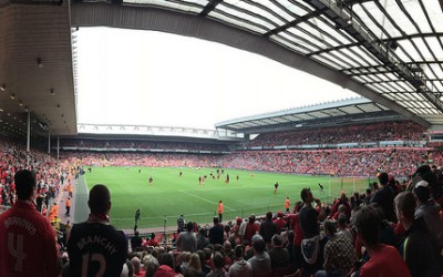 Anfield Panorama - Nyt Premier League Program - Charanjit Chana - flickr