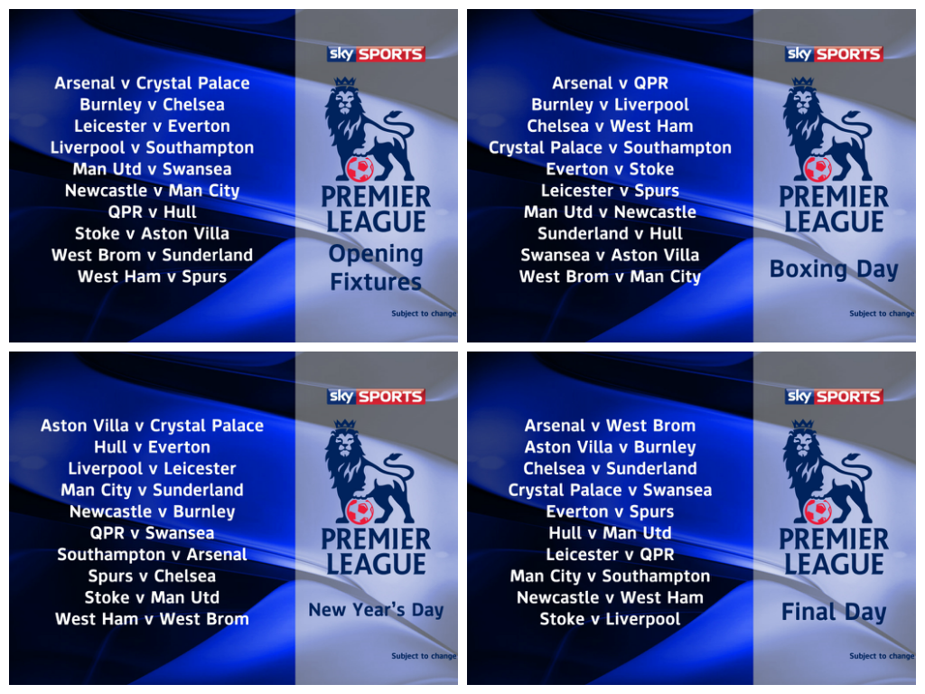 Premier League programmet