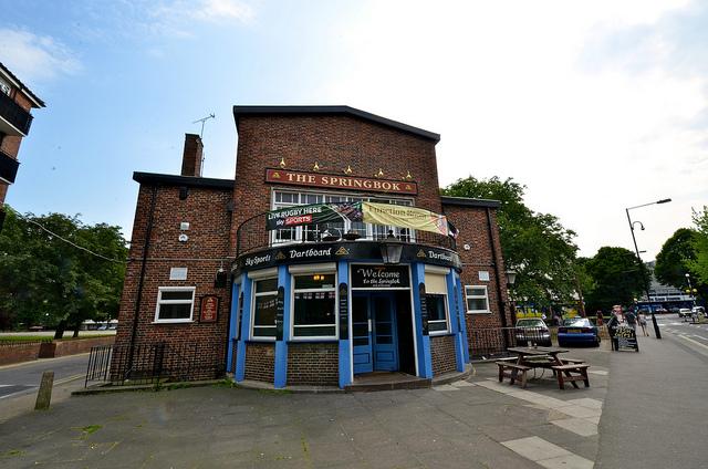The Springbok - QPR Pub - Brent Flanders - flickr
