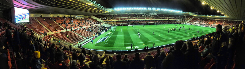 Middlesbrough FC - Riverside Stadium Panorama - domfell - flickr