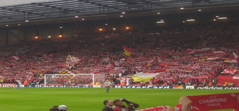 Liverpool billetter - The Kop