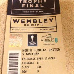Billet til Wembley